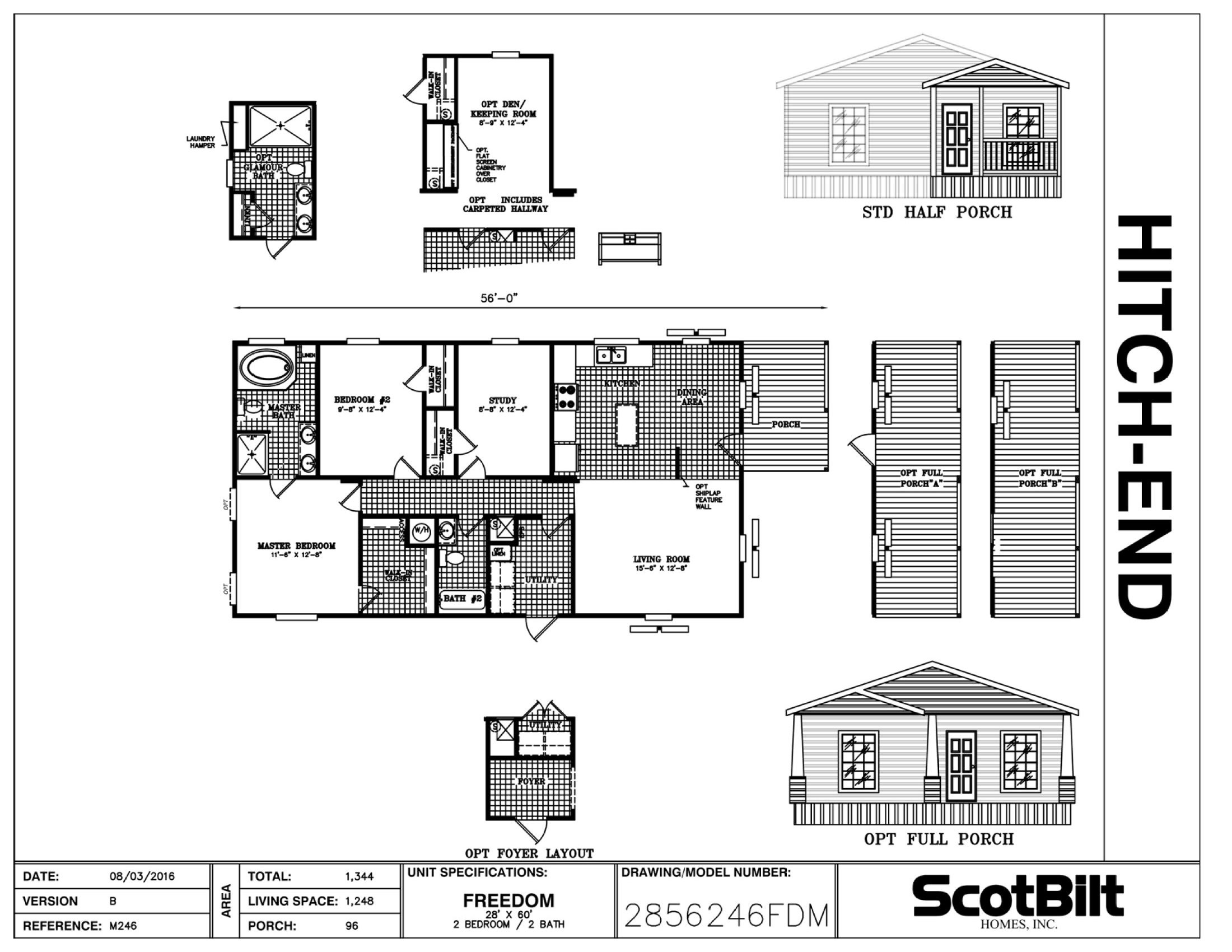 Manufactured and Modular Home Floorplans - Gainey Custom Homes