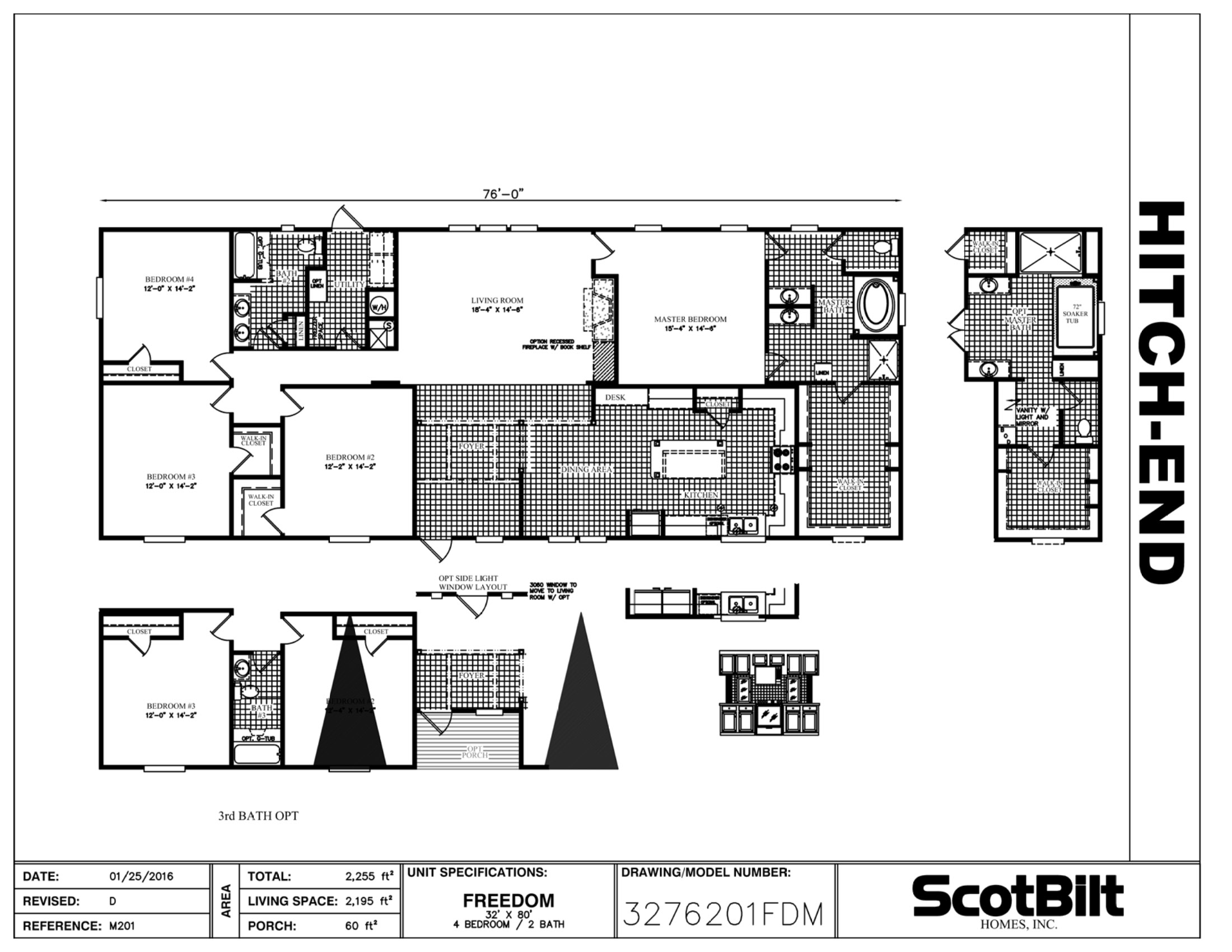 Freedom 3276201FDM - Gainey Custom Homes