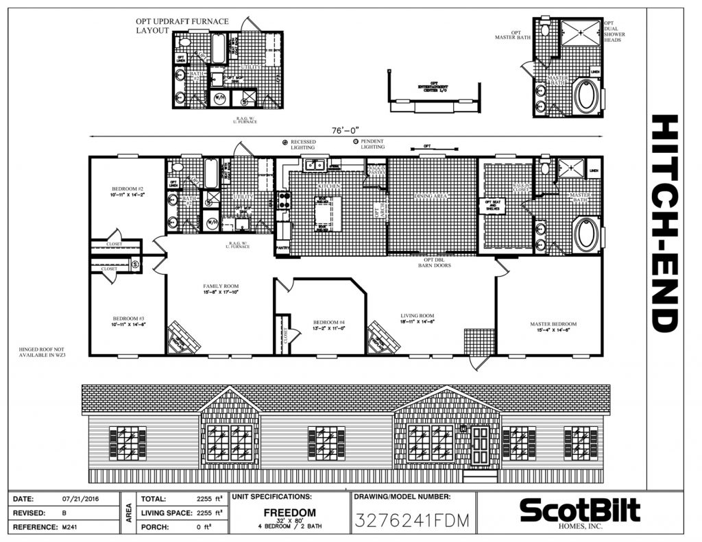 Freedom 3276241FDM - Gainey Custom Homes
